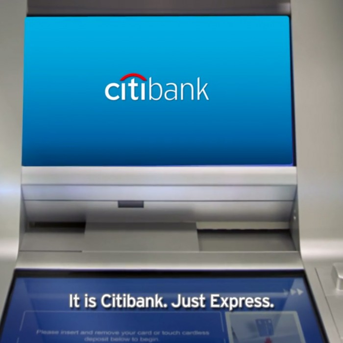 VIDEO: Citibank Express