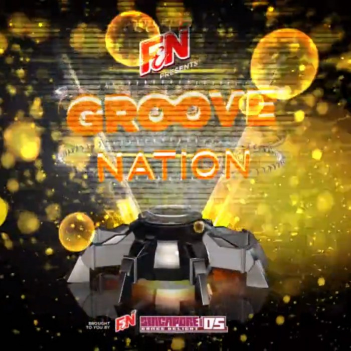 ANIMATION/VIDEO: F&N Singapore Dance Delight 2014 | Groove Nation