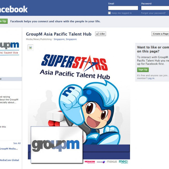 DIGITAL: GroupM Asia Pacific Talent Hub Superstars