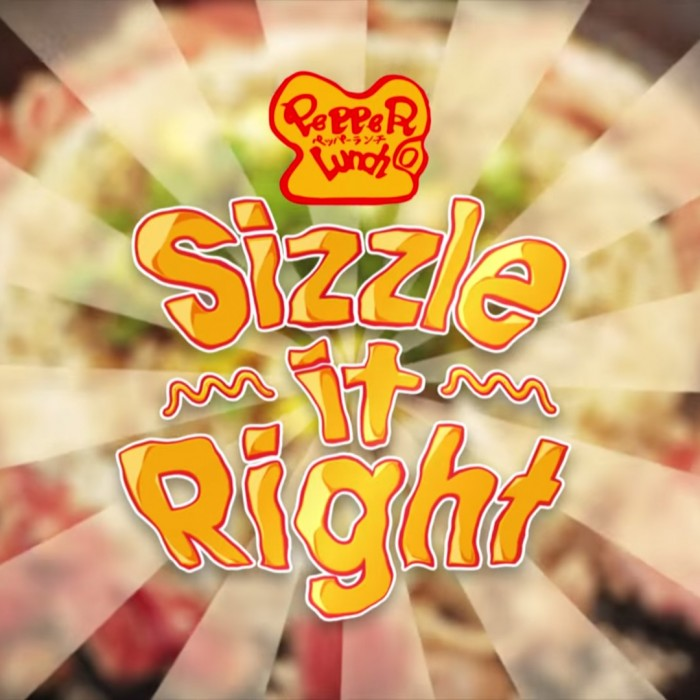 "VIDEO: Pepper Lunch ""Sizzle It Right"""