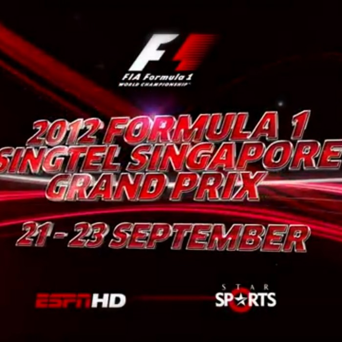 ANIMATION: ESPN F1 Singapore Grand Prix 2012