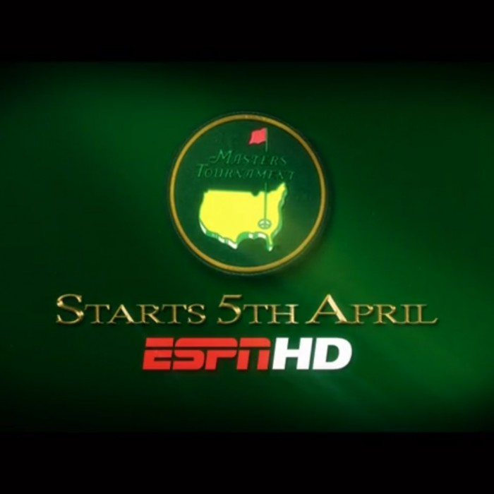 ANIMATION: ESPN 2012 US Masters