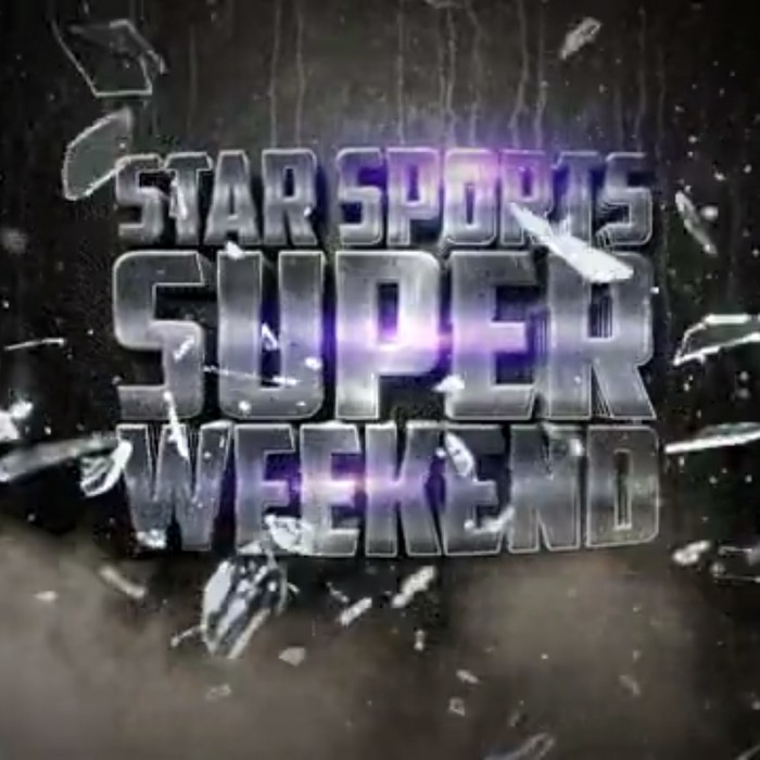 ANIMATION: Starsports Super Weekend