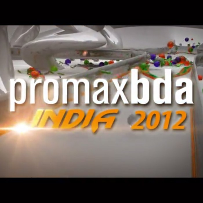 ANIMATION: Promax India 2012